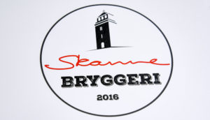 Skarre bryggeri Moss PS Press Reklame Logo