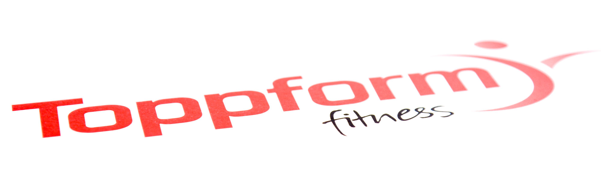 Toppform logo utformet av PS Press Reklame Moss