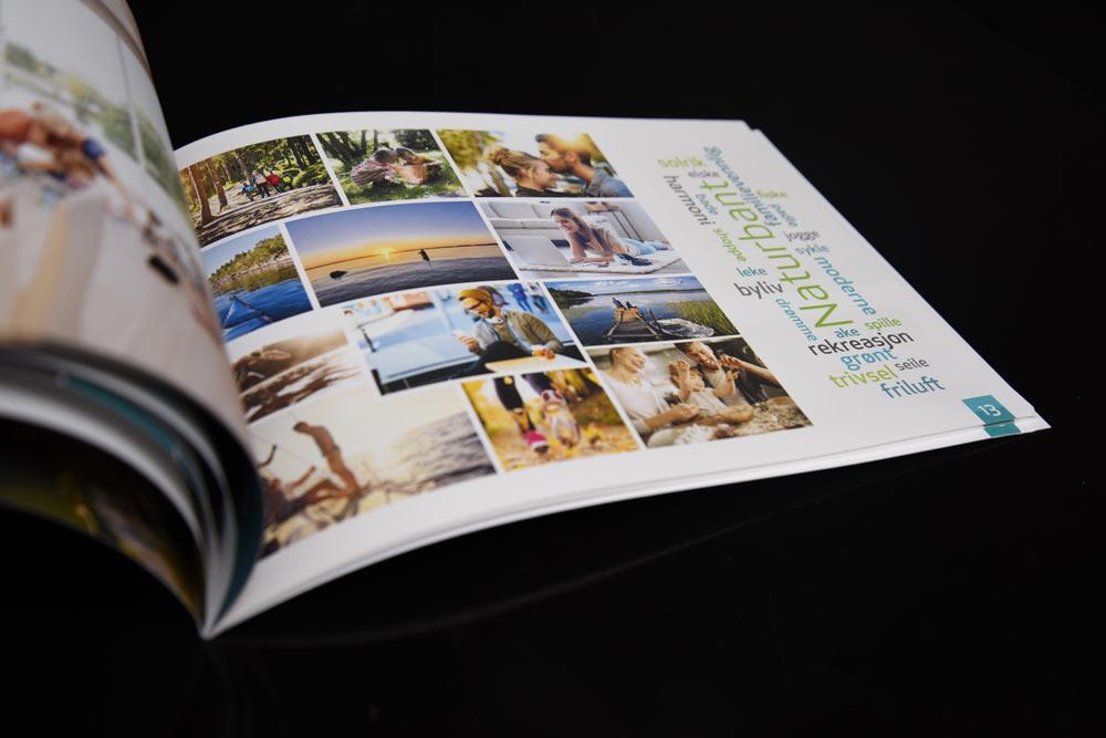 Brosjyre trykksak Moss Ps Press Reklame