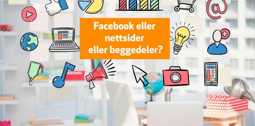 Facebook, hjemmesider, nettsider